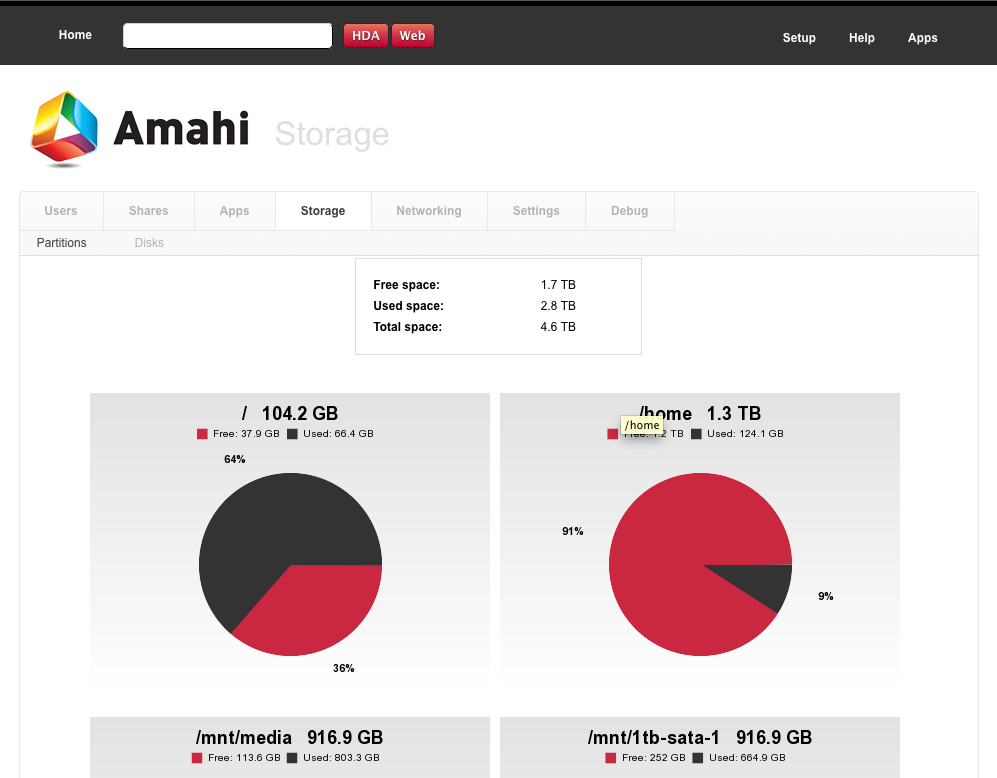 Amahi 6 1 for Ubuntu 12 04 Released
